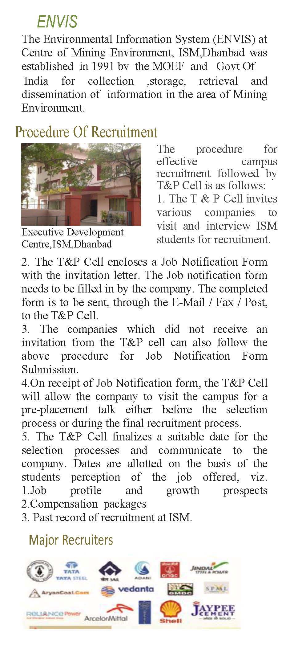 invitation letter for campus placement