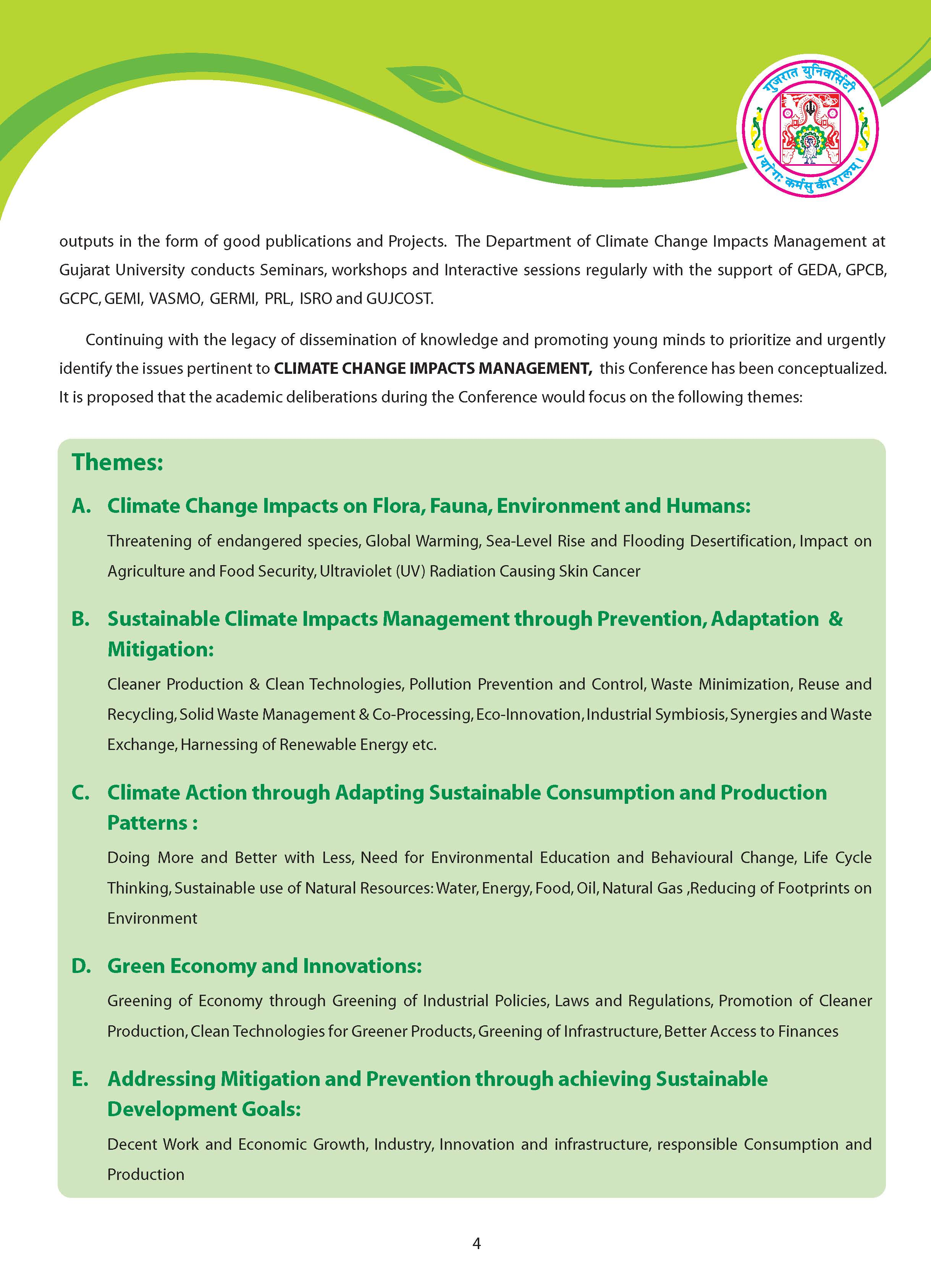 Upcoming Event: Envis Centre, Ministry of Environment & Forest, Govt